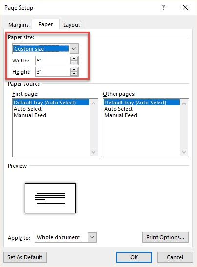 Flash Card Template For Word 2007 by How To Make Index Cards In Microsoft Word 2016