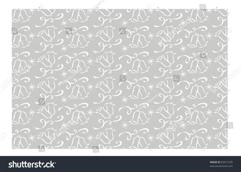 Wedding Background Silver by Silver Wedding Bell Background Pattern Stock Vector