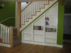 Built In Bookshelves Stairs 16th Nebraska May 2010