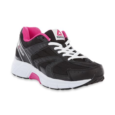 reebok s cruiser athletic shoe black pink shop