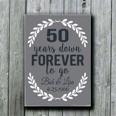 50th Wedding Anniversary Gifts Grandparents by 50th Anniversary Gift Grandparents By Doudouswooddesign