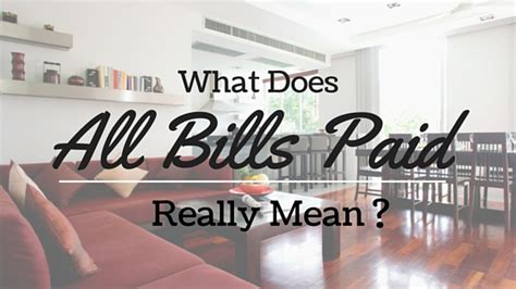 Apartment All Bills Paid Okc Ok What Is An All Bills Paid Apartment Apartment Locators Ok