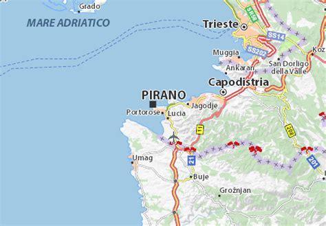porto rosa slovenia map of portorose michelin portorose map viamichelin