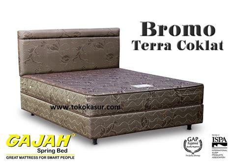 Matras Bigland Ukuran 180x200 gajah bromo terra coklat toko kasur bed murah
