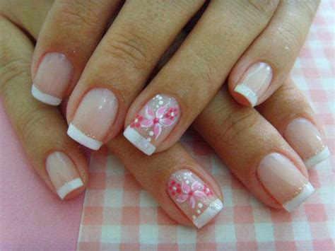imagenes de uñas decoradas cortas 2015 muyameno com u 241 as decoradas con flores parte 2