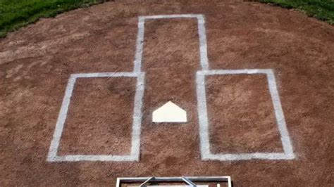 batters box template the batter s box template