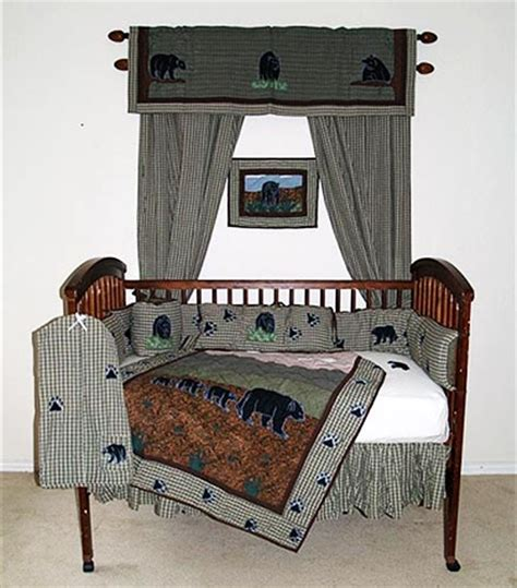 Cabin Crib Bedding Country Crib Bedding Sets Cabin Place