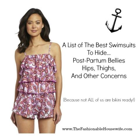 best swimsuits for heavy thighs list of the best swimsuits to hide post partum bellies