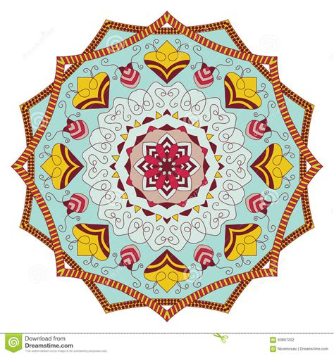 round islamic pattern vector mandala vintage round ornament pattern islamic arabic