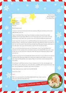 Free Letter From Santa Template Free Letter From Santa Template For You To Download And