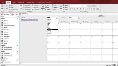 microsoft access templates and database exles