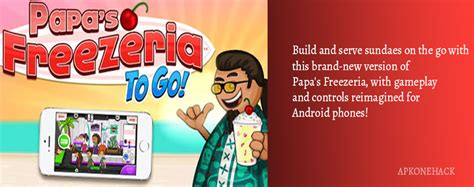 papa s freezeria apk papas freezeria to go apk paid 1 1 1 android by flipline studios apkone hack