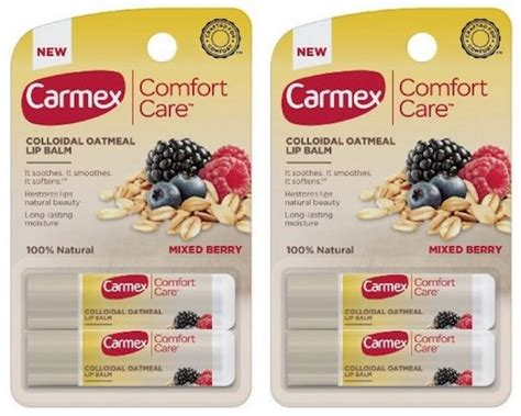 comfort care only carmex comfort care lip balm only 0 75 mojosavings com
