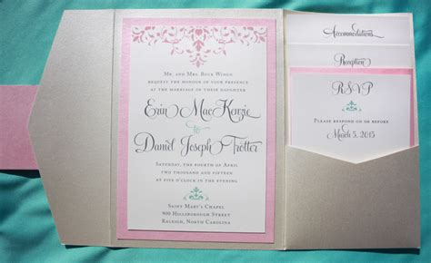 pink and aqua wedding invitations reception card archives page 4 of 20 emdotzee designs
