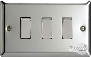 three light switches varilight lighting 3 1or 2 way 10