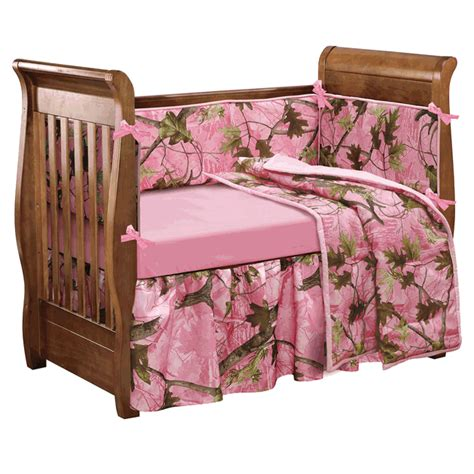 Pink Camouflage Comforter Sets 4 Piece Pink Camo Baby Camo Baby Bed Set