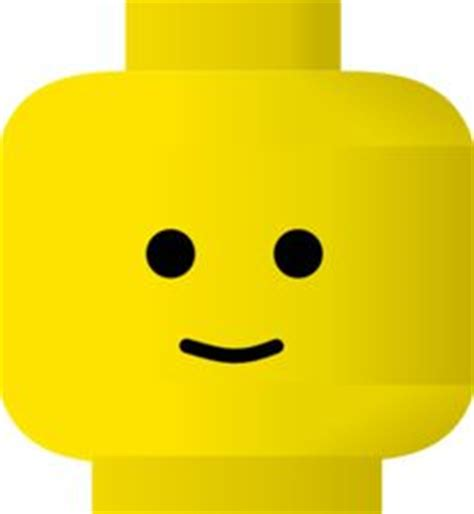 pics for gt lego man face template