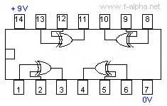 4070 cmos xor integrated circuit f alpha net c mos 4070