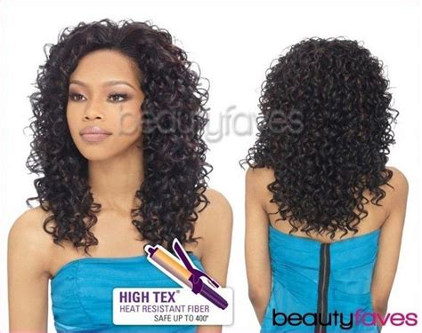 how to style medium bonding hairpiece bella outre quick weave synthetic hair half wig long