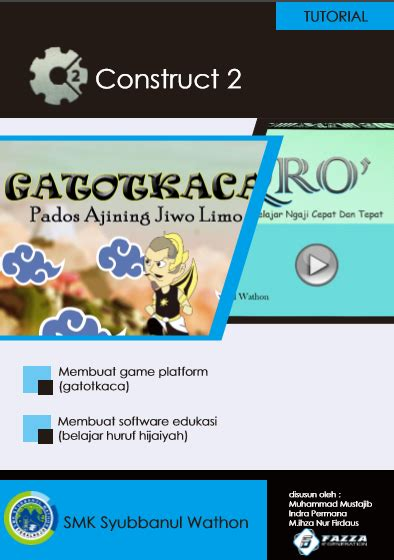 Construct 2 Tutorial Pdf Download | ebook construct2 tutorial game platformer dan software