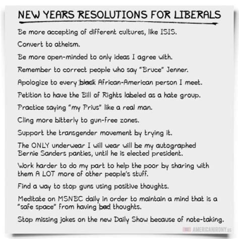 new year essay the virginian new years resolutions for liberals