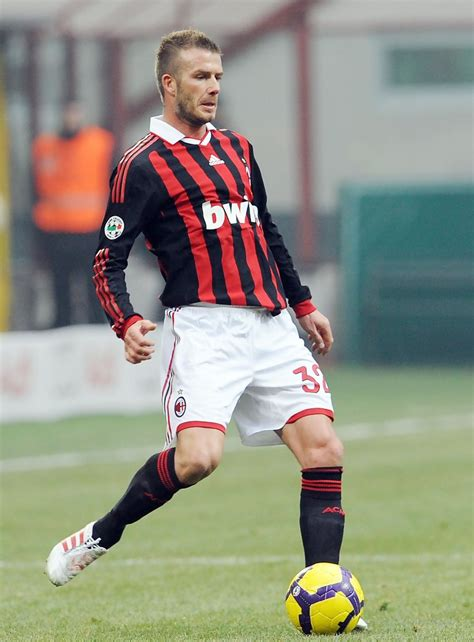 David Beckham In by David Beckham In Ac Milan V Ac Siena Serie A 36 Of 52