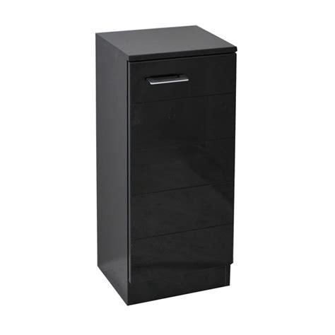 black bathroom storage units spark mercury black 325 storage unit jax b p m bathrooms ltd