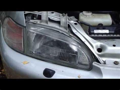 vehicle repair manual 1991 honda civic interior lighting how to replace parking light bulb honda civic years 1991 to 2001 youtube