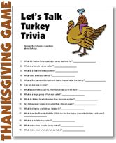 thanksgiving day trivia questions answers free thanksgiving party games printable educational