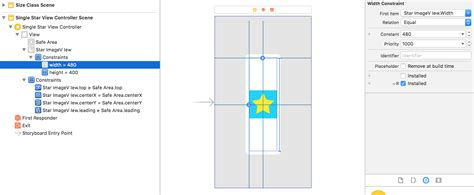 qt5 layout size constraint ios size class d auto layout constraint activated for