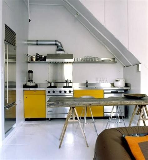 yellow kitchen appliances yellow kitchen cabinets and stainless steel appliances