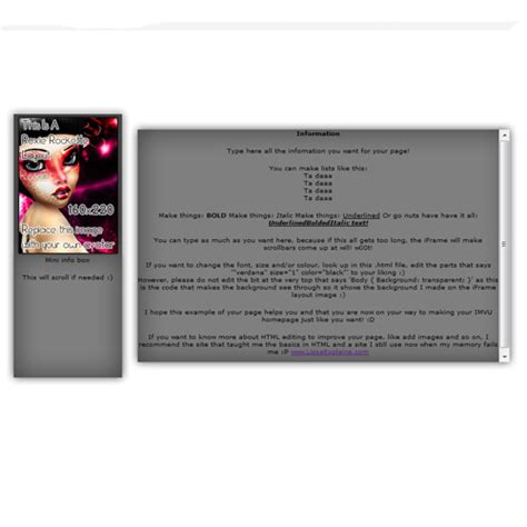 imvu layout maker related keywords suggestions for imvu div layout maker