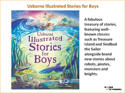libro illustrated classics for boys world of wonders usborne illustrated stories for boys