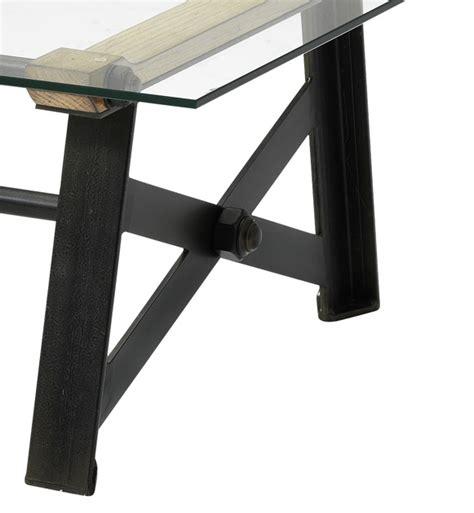 table basse rectangulaire industrielle factory crozatier