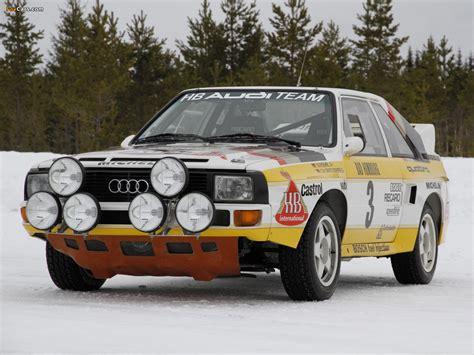 Audi Quattro 86 by Audi Sport Quattro Group B Rally Car 1984 86 Images 1280x960