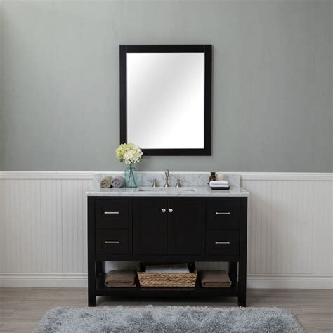 bathroom vanities wilmington nc alya bath wilmington 48 in single bathroom vanity in