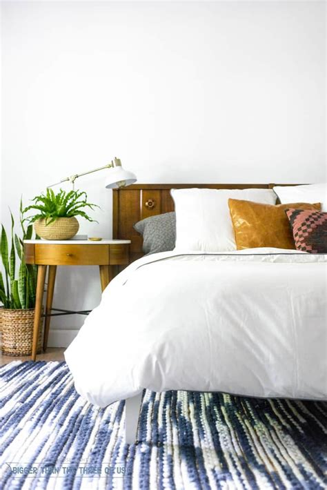 Mid Century Modern Comforter by Switching Gears In The Master Bedroom With Bedding