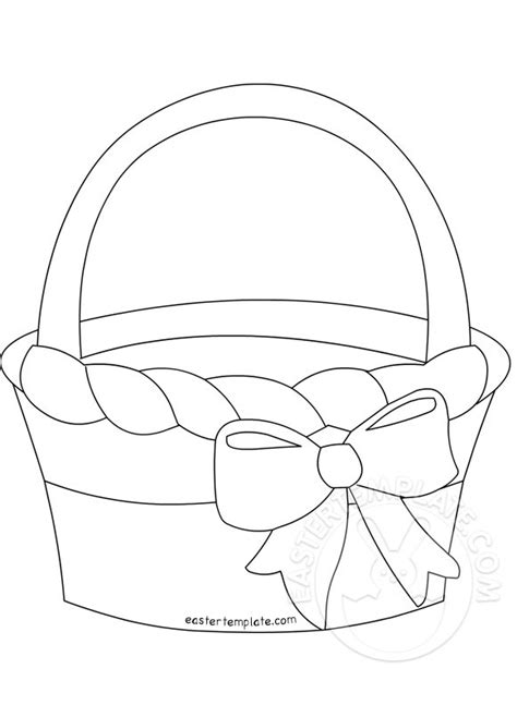 search results for paper easter basket template