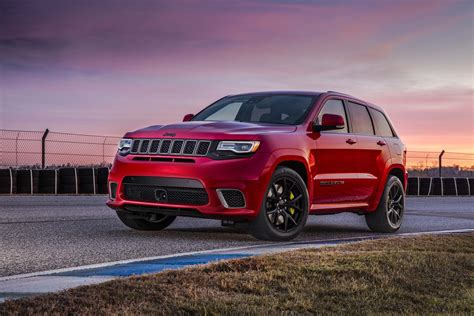 trackhawk jeep black 2018 jeep grand cherokee trackhawk starts at 86 995