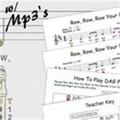 row row your boat on recorder 1000 images about recorder activities on pinterest