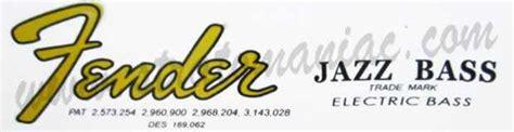 Fender Schriftzug Aufkleber by Fender Logo Schriftzug Fender Gitarren Und B 228 Ssen
