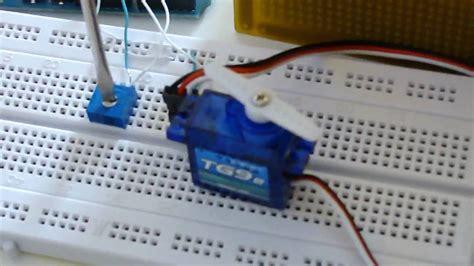 arduino controlling turnigy  micro servo youtube