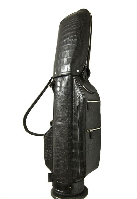 Handmade Leather Golf Bags - treccani s custom leather golf bags extravaganzi