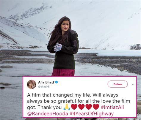 biography of movie highway alia bhatt says highway changed her life and we cannot