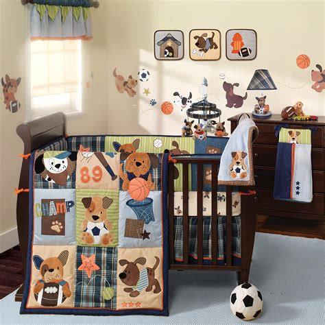 Crib Bedding Sets For Boys Clearance Lambs Bow Wow 9 Crib Bedding Set Lambs Bedtime Babies Quot R Quot Us Liebe Hunde