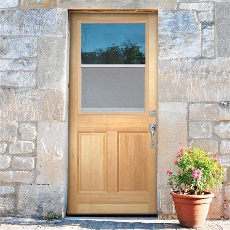 Exterior Door Slab Unfinished Wood Exterior Doors Panel And Panel Entry Doors In Ud X Ud Prehung