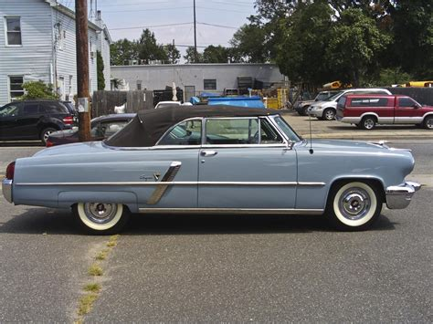 Choose Color For Home Interior 1953 lincoln capri 2 door convertible 97510