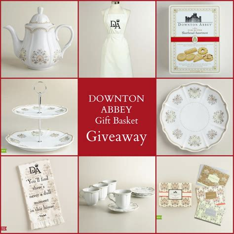 World Market Downton Abbey Sweepstakes - christmas at downton garden tea party lynlee s
