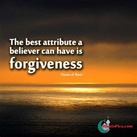 believer forgives hasan al basri
