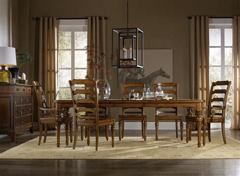 Dining Room Groups by Hooker Furniture Tynecastle Formal Dining Room Group